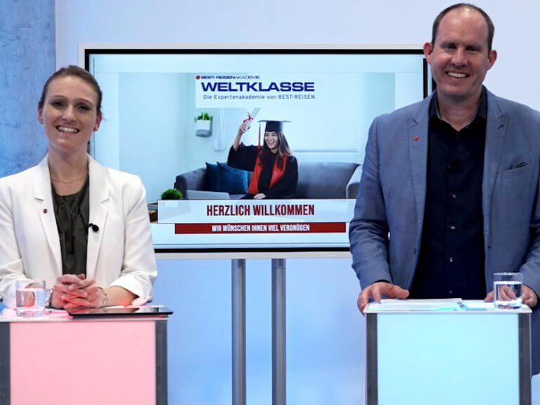 Von Troisdorf in die ganze Welt – die erste digitale Weltklasse von BEST-REISEN in unseren RheinlandStudios