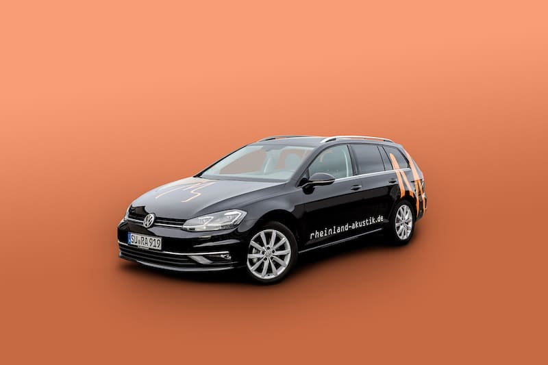 VW Golf - RheinlandAkustik Fuhrpark