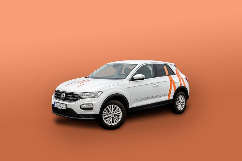 VW T-Roc - RheinlandAkustik Fuhrpark