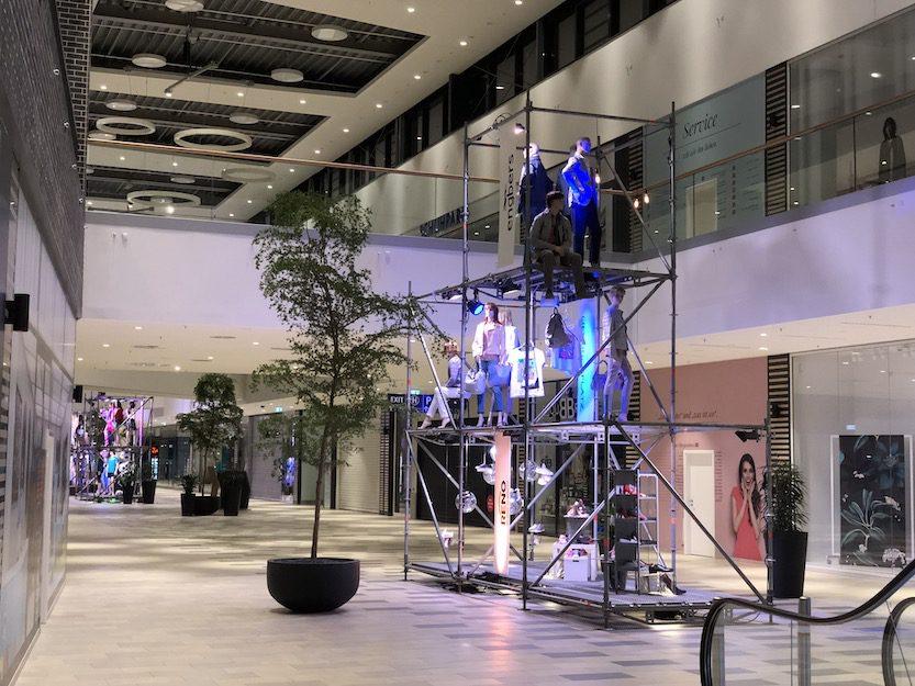 Veranstaltungstechnik von Rheinland Akustik bei der Modeaktion huma in Sankt Augustin 2018